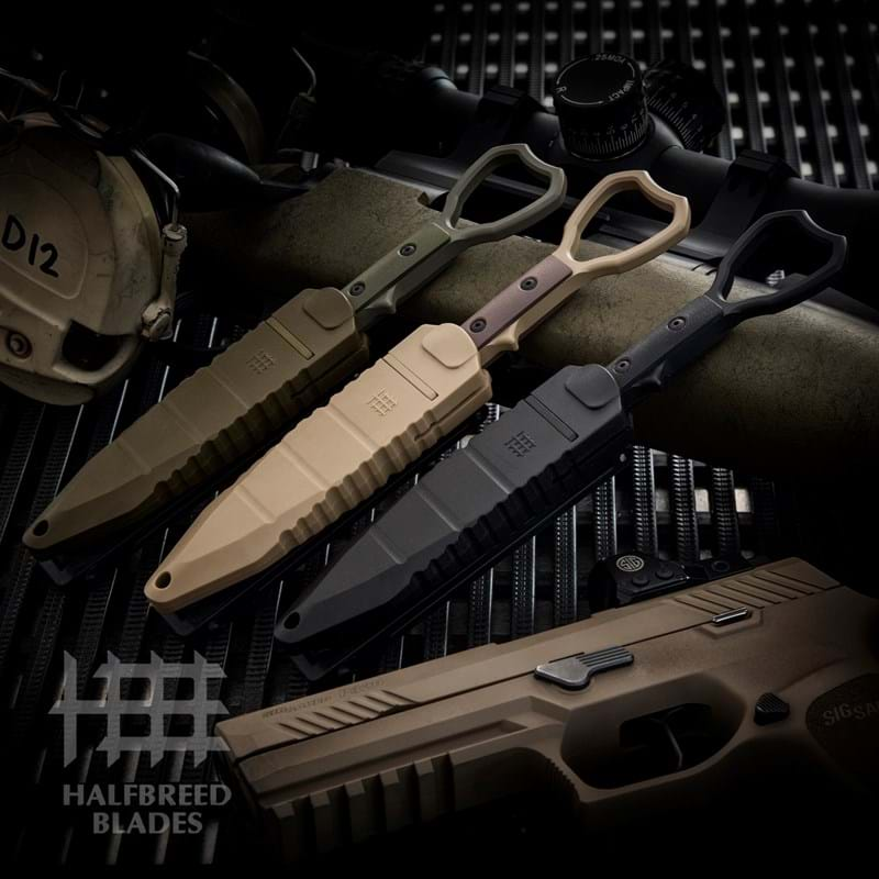 CCK-01 Compact Clearance Knife & Trainer Bundle | Halfbreed Blades
