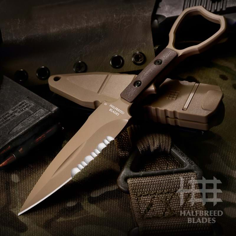 CCK-01 Compact Clearance Knife | Halfbreed Blades