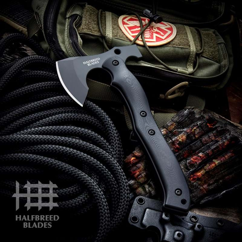 CRA-01 Compact Rescue Axe | Halfbreed Blades