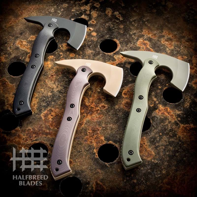 CRA-02 Compact Rescue Axe | Halfbreed Blades
